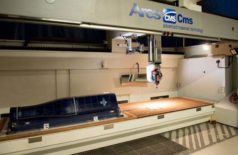 CMS Ares 5 Axis Machining Center