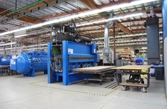 Heated Laminating Press