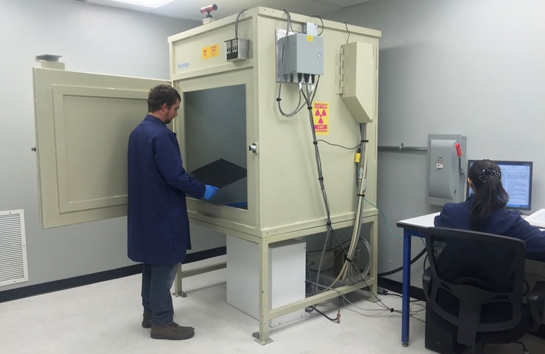 X-Ray Inspection Cabinet