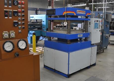 ACP first Heated Press