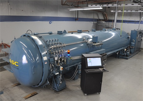 ACP installs largest of 3 Autoclaves
